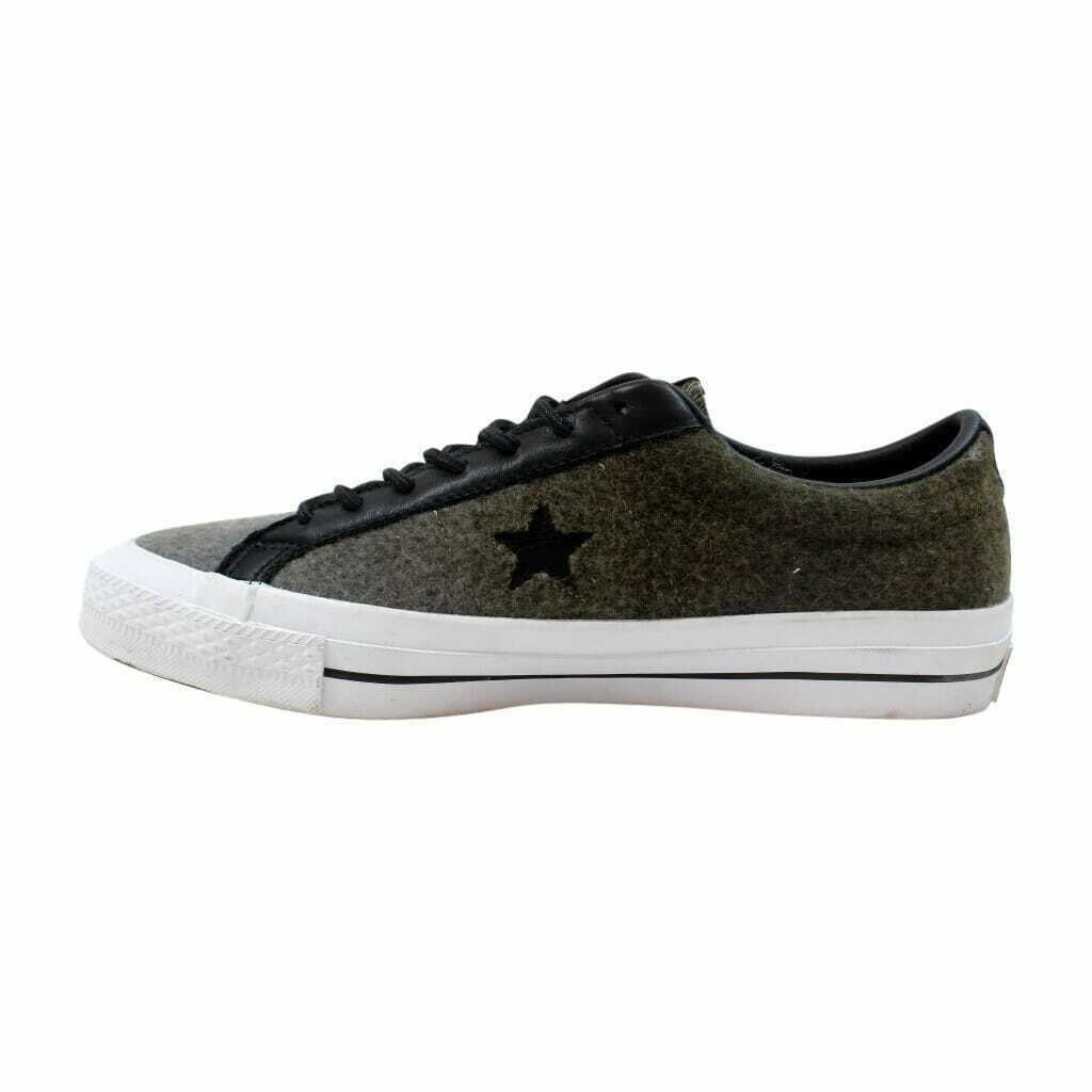 Converse One Star Woolrich OX Jute/Herbal-Black 154036C Men's Size UK 9