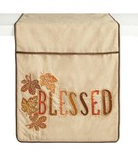 "Northeast Home Goods ""Blessed"" Leaf Embellished Beaded Handmade Table Ru... - $29.39"