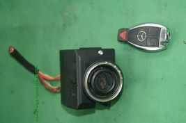 Mercedes Ignition Start Switch Module & Key Fob Keyless Entry Remote 2095451908 image 5