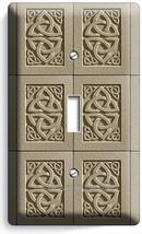 Celtic Knot Irish Trinity Tile Design Single Light Switch Wall Plate Room Decor - $8.99
