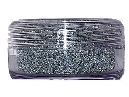 Flower Soft-Diamond Range Flocking-Silver 30ml Jar image 2