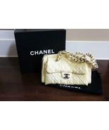 AUTHENTIC CHANEL CC Logo Silver Chains Patent Leather Shoulder Bag $4950 - $1,199.00