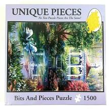 Unique Pieces 1500 Piece NEW SEALED Bits And Pieces Puzzle Swan Lake #44945 - $27.66