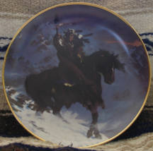 "Spirit Of the West Wind Hermon Adams Franklin Mint Fine Porcelain 8"" Plate 1993  - $21.99"