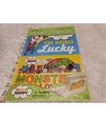 New Hallmark So So Happy Monsters moveable decorations Decals sticks to ... - $4.94