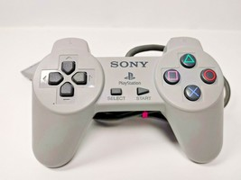 Sony Authentic PS1 Original Controller SCPH-1080 Gray For Playstation 1 ... - $13.85