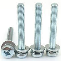 4 New Tv Stand Screws For Rca Model RTR4360-B-US, RTR4360-US, RTR4361-B-CA - $6.62