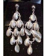 Silver Color,-Dangles, pierced Ear Rings - $3.00