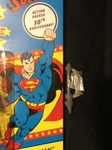 """Dc COMICS-SUPER Powers COLLECTION-6"""" SUPERMAN-30TH Anniversary With Baf Piece! - $27.99"""