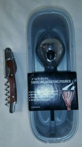 Metrokane Rabbit 6110 Wine Aerating Pourer & Premium Corkscrew (BW1) - $23.33