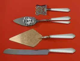 William and Mary by Lunt Sterling Silver Dessert Serving Set 4pc Custom Made - $299.00