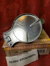 Vintage Harbor Freight Tools Metal Hamburger Press Item 44934 image 5