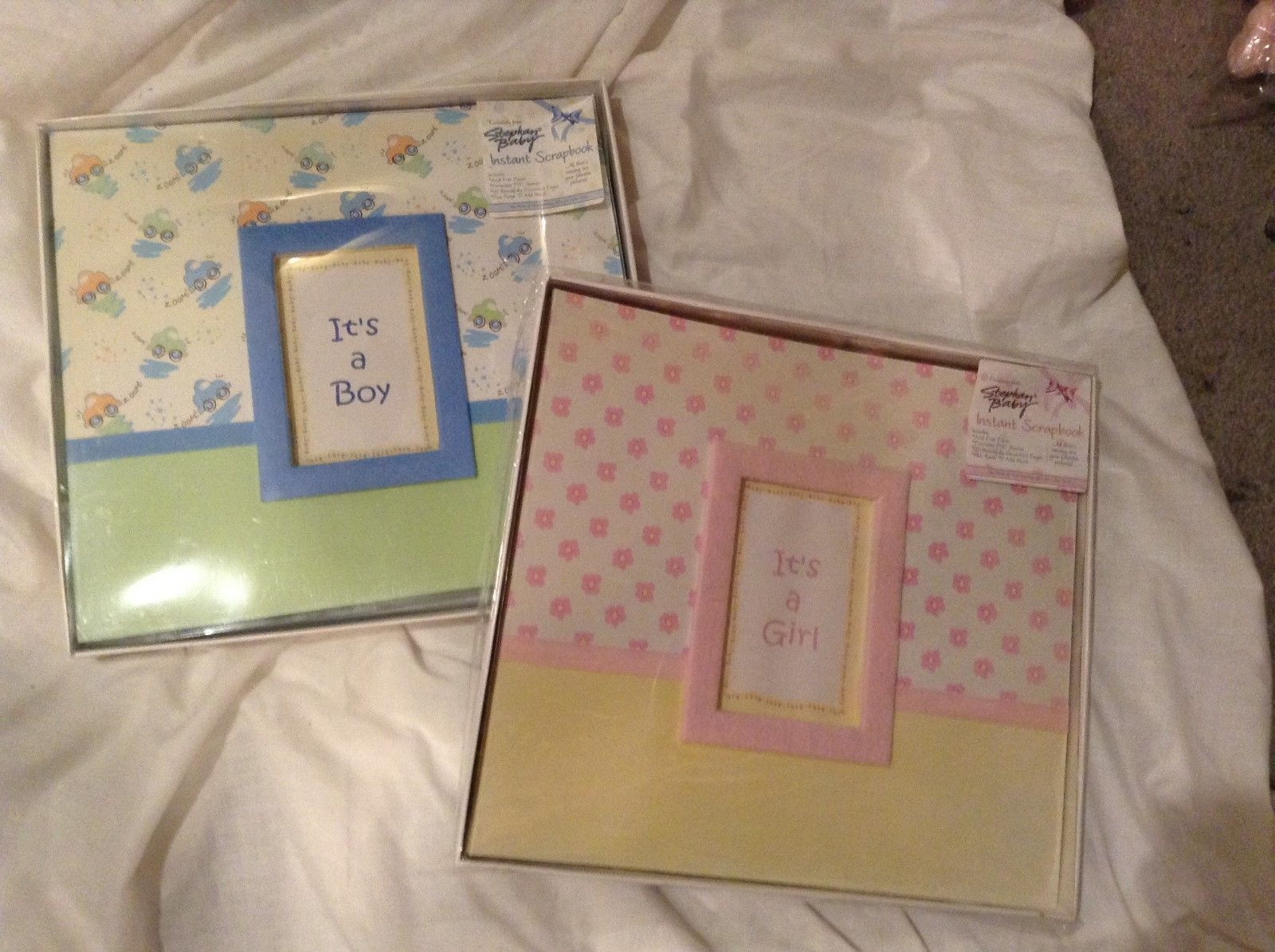 NEW Stephan Baby Instant Scrapbook  12 x 12