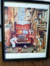 Vintage  Norman Rockwell Traffic Conditions  Post Cover July 9th 1949  Framed 11 image 1