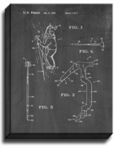 Ice Tool For Mountaineering Patent Print Chalkboard on Canvas - $39.95+