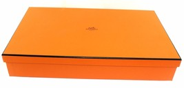 "100% Authentic HERMES Box Only Size 15.2"" × 9.2"" × 2.8"" Excellent Condition - $78.21"