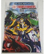 Transformers Robots In Disguise #0 Free Comic Book Day FCBD May 2015 - $5.85