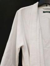 White Ralph Lauren Women Bath Spa Lounge Sleep Robe Sz Large image 2