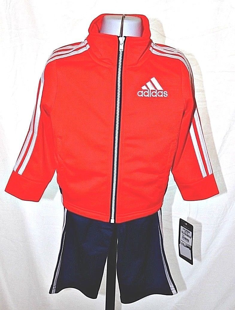 ba3938cf0a0e41 New boys Adidas 18 months warm up track suit and similar items