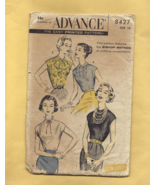 """""""Sew Easy"""" Printed Pattern - ADVANCE  8427 - Misses' Blouses, size 16 - $4.00"""