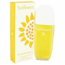 Perfume SUNFLOWERS by Elizabeth Arden Eau De Toilette Spray 3.4 oz for W... - $18.51