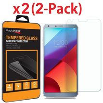 2 Pack Premium Tempered Glass Screen Protector Guard For LG G6 - $10.00