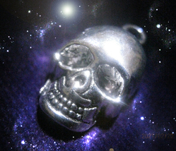 Free Skull Charm W $25 Your Chosen Path Skills Knowledge Magick Magick Witch - $0.00