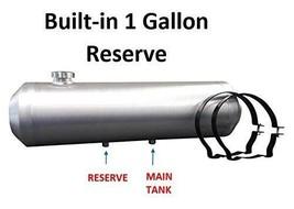 9.25 gallon 10x28 End Fill Spun Aluminum Gas Tank w// Site Gauge Dune Buggy