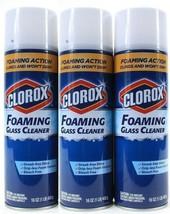 (3) Foaming Glass Cleaner Streak Free Drip Free Shine 16 fl oz Cans - $29.69