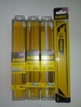 "3 X DEWALT 15pk 9"" 14-TPI +  5pk 14TPI Metal Cutting Reciprocating Blade... - $70.08"