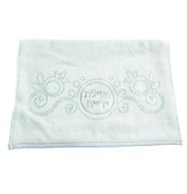 2 Hand Towel Judaica Silver Embroidery Crystals Shabbath Holiday Netilat Yadayim image 2