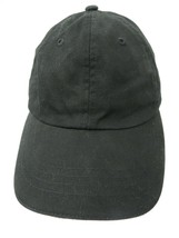 Faded Glory Blank Black Adjustable Adult Ball Cap Hat - $12.86