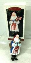 1996 Merry Olde Santa #7 Hallmark Christmas Tree Ornament MIB w Price Tag - $18.32