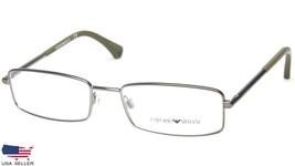 New Emporio Armani Ea 1003 3003 Matte Gunmetal Eyeglasses Frame 52-17-135 B28mm - $64.33