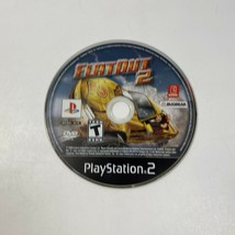FlatOut 2 (Sony PlayStation 2, 2006) - TESTED - DISC ONLY - PS2 - $5.99