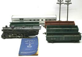 Gilbert American Flyer S R/R Lot Locomotive C&NW 4-6-2 #282+Gondola Cars... - $88.81