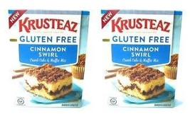 Krusteaz Gluten Free Cinnamon Swirl Crumb Cake & Muffin Mix 20oz Pack of 2