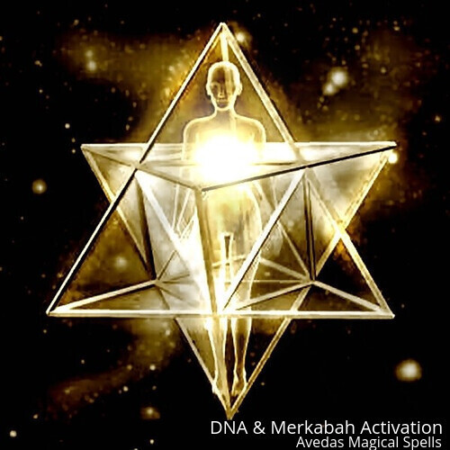 DNA & Merkabah Activation -Activate your sacred Divine Light within you - $77.00