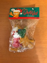 Vintage Kurt S. Adler Garfield Christmas Holiday Ornament Paws Tree Decoration - $6.99