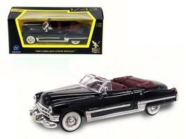 1949 Cadillac Coupe De Ville Black 1:43 Diecast Model Car by Road Signature - $22.84