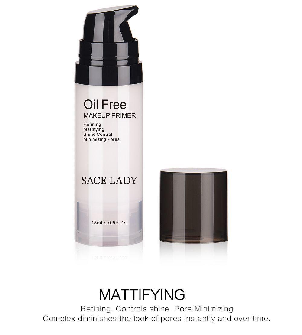 Face Makeup Primer Oil Free Professional Base Make Up Matte Foundation Pores image 11