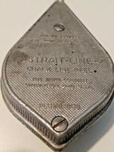 Vintage Irwin Strait-Line Orange Chalk Line Plumb Bob Line Reel Made in USA - $14.99