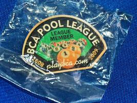 2008 09 BCA 8 BALL POOL LEAGUE PLAYER MEMBERS PIN NEW FREE SHIPPING U.S.A. - $11.94