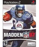 Madden NFL 07 Sony PlayStation 2, 2006, Video Game E - Everyone FREE SHI... - $6.71