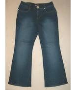 FORENZA Womans Size 8 Dark Blue Denim Pants Jeans Flare Bottom New Free ... - $12.96