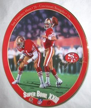 The Bradford Exchange Joe Montana King Of Comebacks By Rick Brown First Issue - $27.49