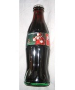 COCA COLA CLASSIC 8oz UNOPENED CHRISTMAS 1996 SANTA AND DOG BOTTLE FREE ... - $9.18