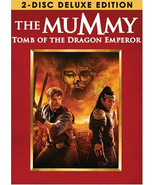The Mummy Tomb of the Dragon Emperor DVD 2008 2-Disc Set Deluxe Edition - $7.60