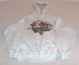 19TH Annual Redwood Run '96 Piercy, Ca. SZ M Grey Hoodie Sweat Shirt Mad... - $18.39