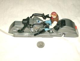1995 Batman DC Comics Kenner RARE Robin Biker Figure On Pull & Ride Motorcycle - $11.04